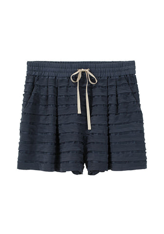 Stripe Applique Shorts