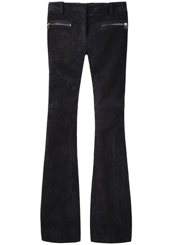 Suede Skinny Super Flared Jeans