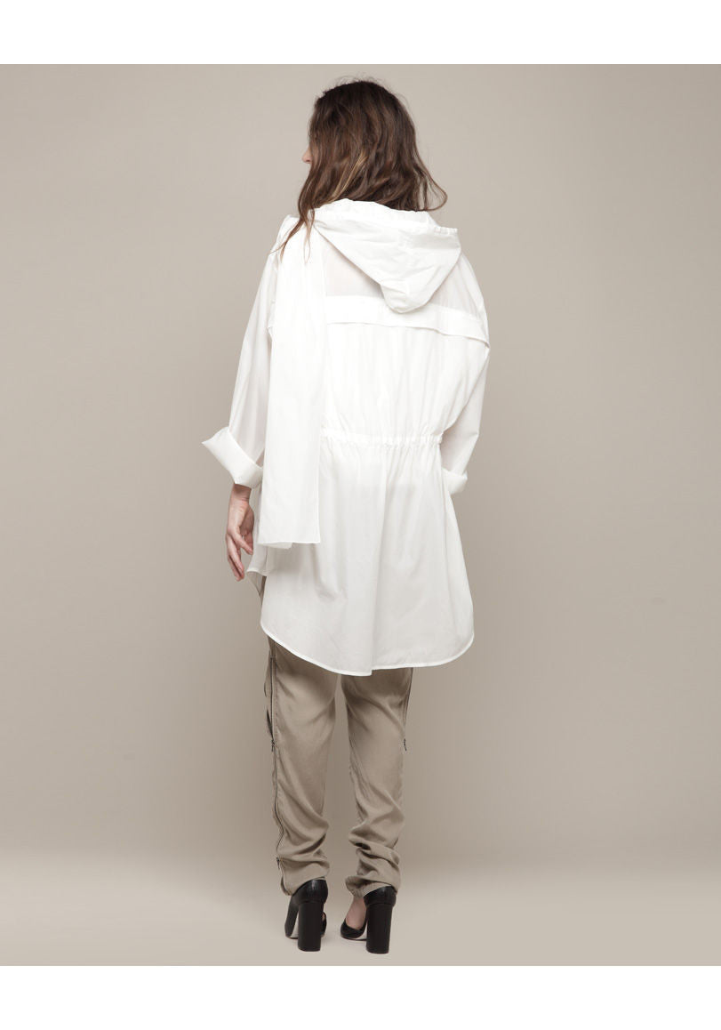 Transformable Hooded Parka