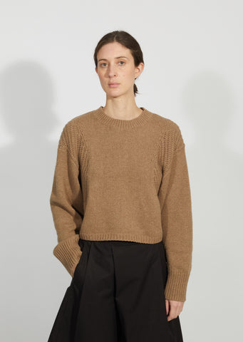 Huahine Cotton & Cashmere Sweater