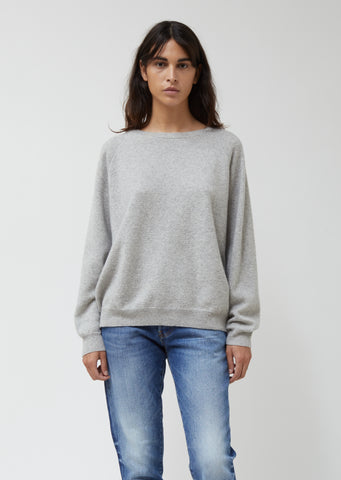 Cashmere French Terry Sweatshirt