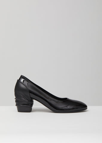 Patent Leather Heel