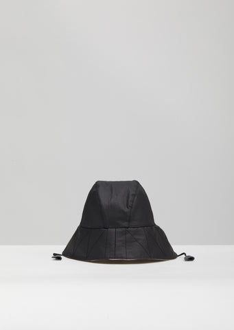 Coated and Chintzed Linen Hat