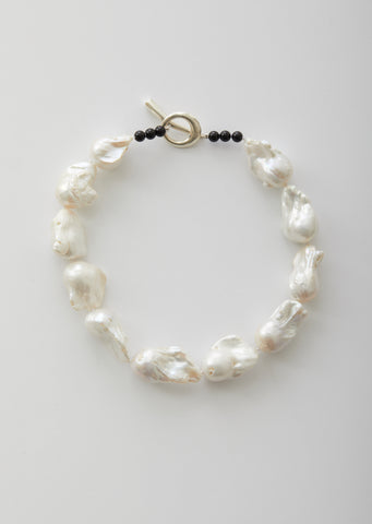 Large Baroque Pearl Collar