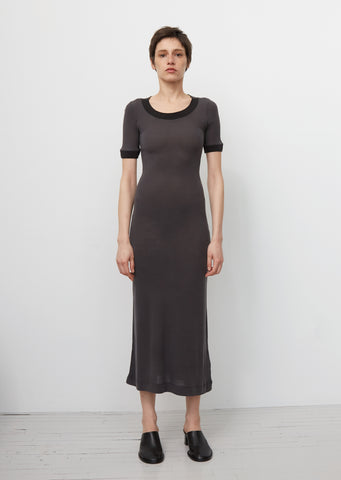 Elaine Laddering Rib Dress