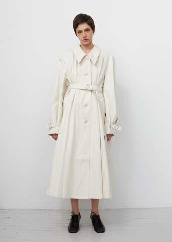 Cotton Twill Overcoat