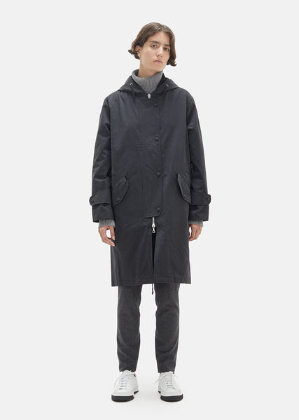 Bradley Washed Cotton Parka