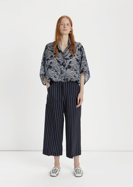 Texel Pinstripe Trousers