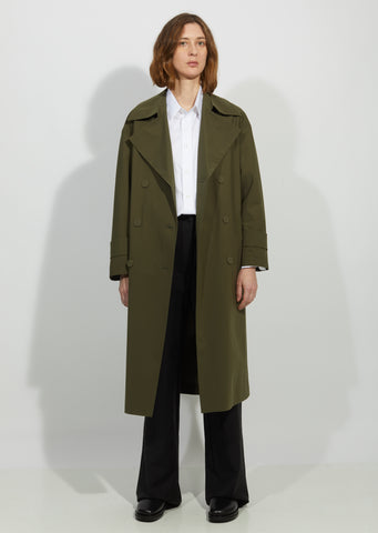 Oversized Light Trench Coat