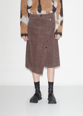 Sampo Soft Corduroy Skirt