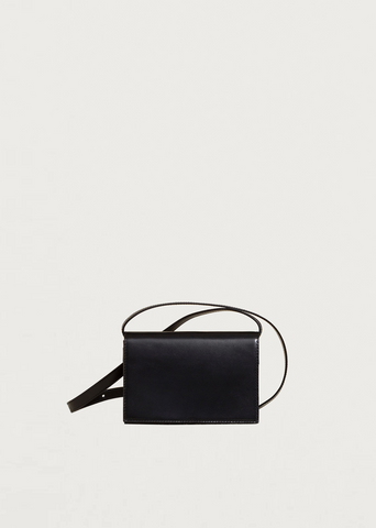 Mini Satchel Bag — Black