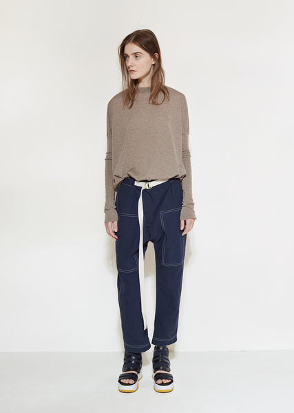 Slouch Denim Trouser