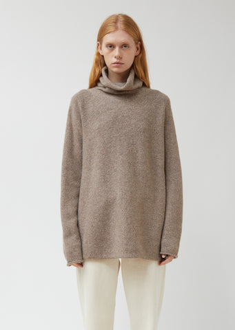 Horizontal Cowlneck Sweater