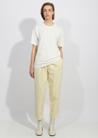 Cotton Linen Chino Work Pants