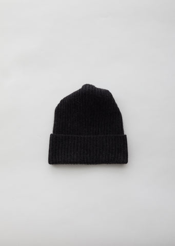 Cashmere Pleats Knit Cap