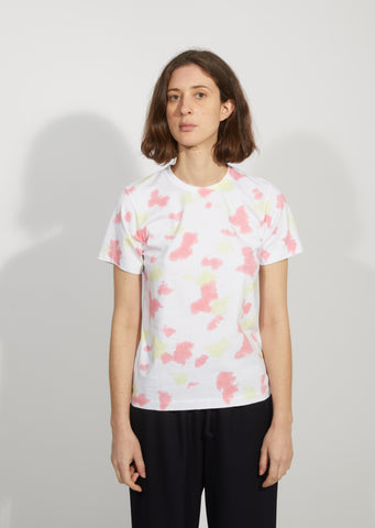 Garment Treated Cotton Printed T-Shirt