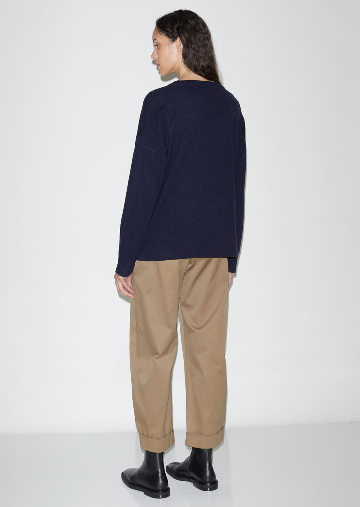 Peak Oversized Tee Sweater