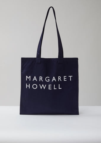Navy Logo Bag