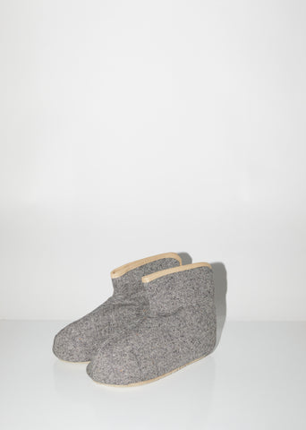 Sasawashi Wool Room Boots