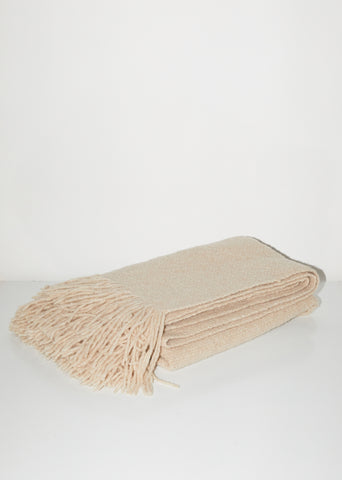 Handwoven Brushed Blanket