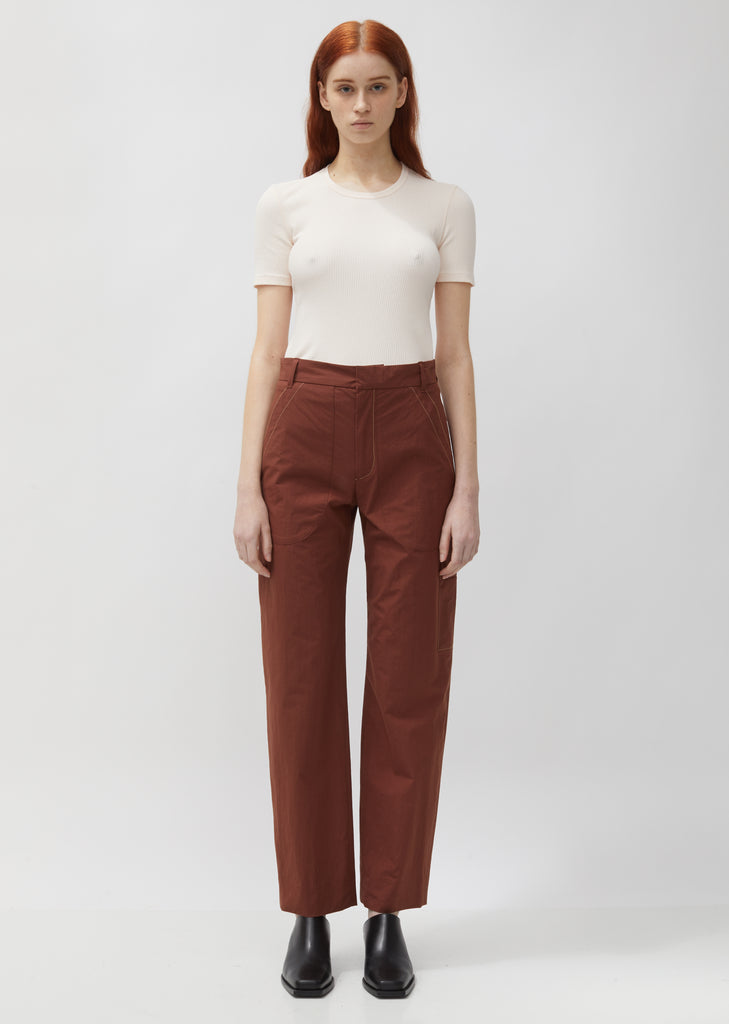 Relaxed Patch Pocket Trouser