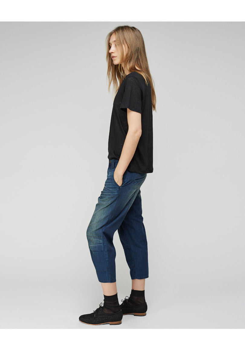 Army Cropped Jean