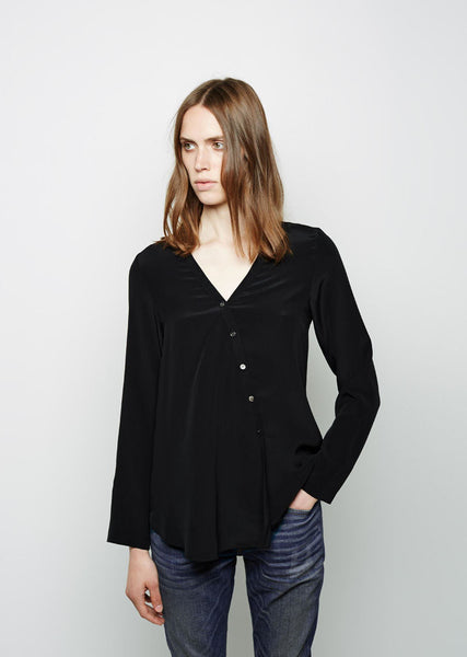 6397 Collarless Shirt La Garconne
