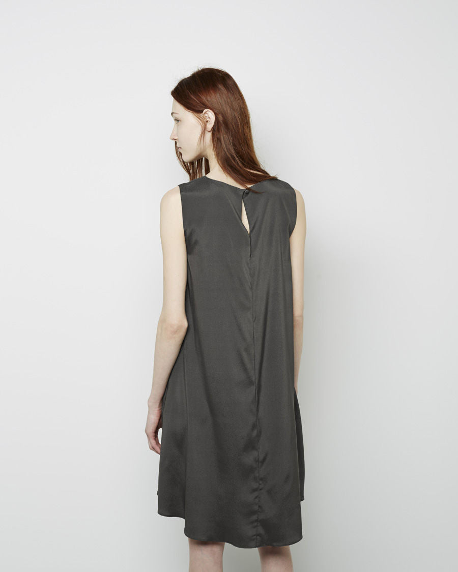 Silk Charmeuse Tent Dress
