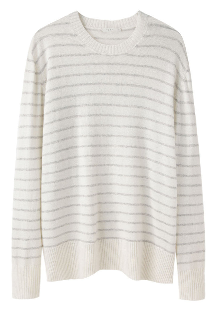 Striped Cashmere Pullover