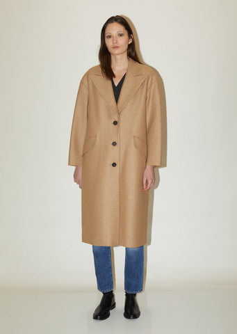 Wool Oversized Great Coat