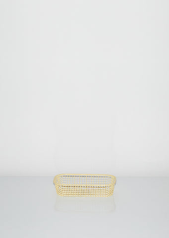 Trinkets Rectangular Light Yellow
