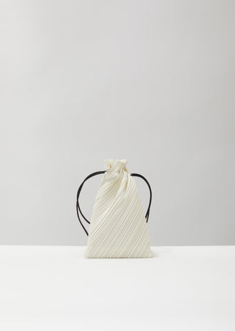Drawstring Pleats Bag