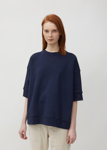 Tipsy Oversized Short Sleeve Sweatshirt