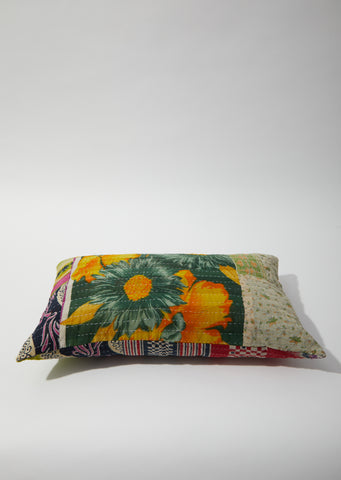 Rectangle Cushion 20 x 12 - Sunflower Patchwork