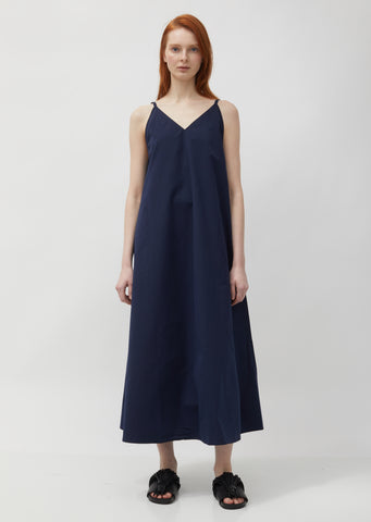 Dinara Sleeveless Long A-Line Summer Dress