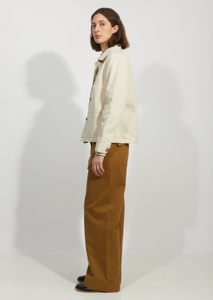 Stand Collar Cotton Jacket