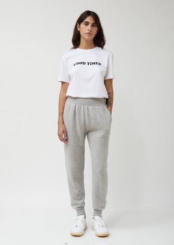 Cashmere French Terry Sweatpant