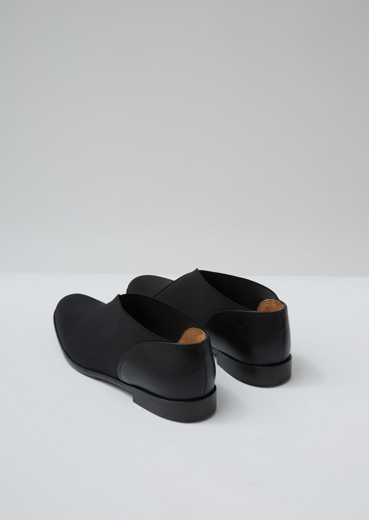 Elastic Leather Shoes