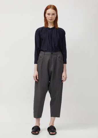 Linen & Rayon Lowrise Trousers