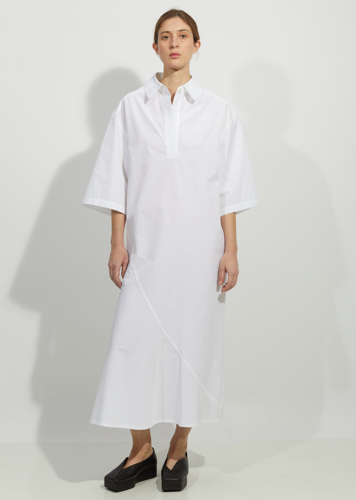 Cotton Polo Shirt Dress