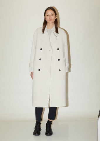 Soft Wool Trench Coat