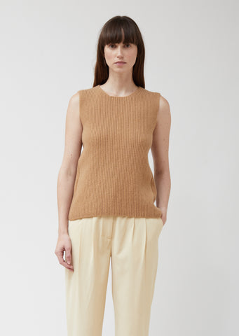 Keb T Chunky Soft Wool Sleeveless Top