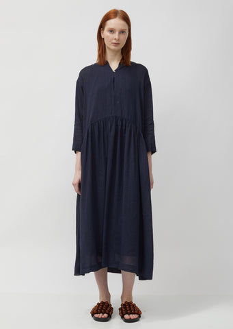 Linen Tencel Tunic Dress
