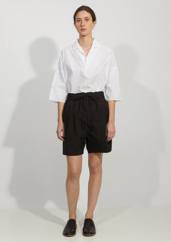Cotton Taffeta Shorts