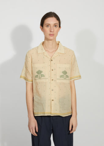 Tea Dyed Jamdani Shirt