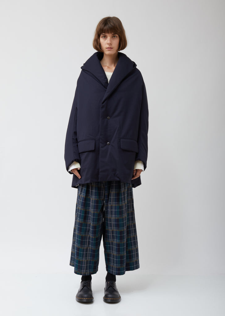 Padded Cocoon Coat