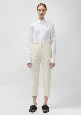 Lang Light Cotton Canvas Trousers