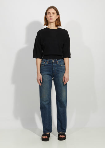 Unisex Selvedge Denim Vintage Deep Rise Fit