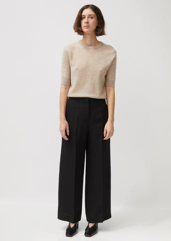 Monaca Fluid Silk and Viscose Trousers