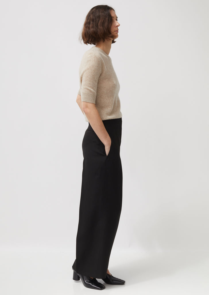 Monaco Fluid Silk and Viscose Trousers